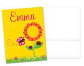 Girl's Personalized  File Folder