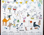 Cutest 2012 Wall Calendar - Big Circus