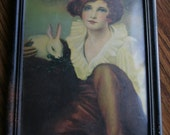 Gorgeous Vintage Framed Art