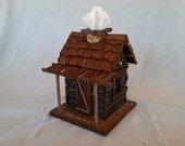 Rustic Cabin Kleenex Dispenser