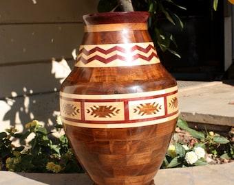 Indian Design Inspired Segmented Vase