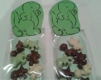 Chocolate Dinosaur Party Bags