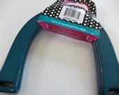 Wooden Purse Handle-Teal/Turquoise-Slightly Damaged-PRICE REDUCED