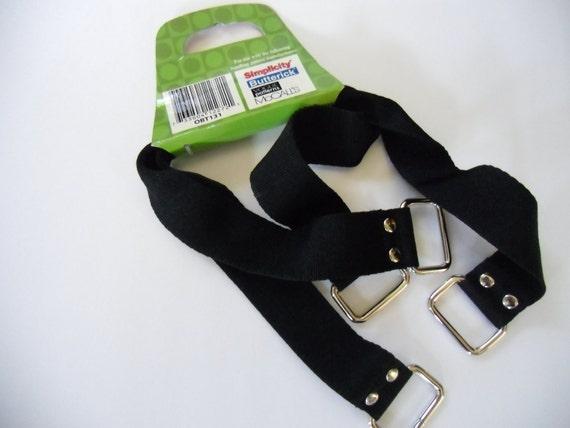 Purse Handles- Black Nylon Webbing