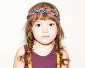 Braided Headband in Purple
