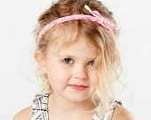 String Headband in 'Maze' or 'Snakeskin' Print                              (Available in Many Colors)