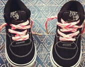 Hand Printed Shoelaces (choose your color)