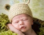 Baby Deer Hat - Bambi-Woodland Deer- Photography Prop - Newborn Girl-Newborn Boy