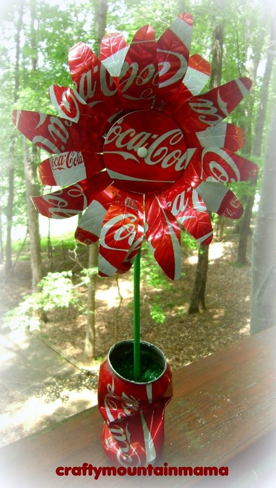 Christmas Crafts With Soda Cans