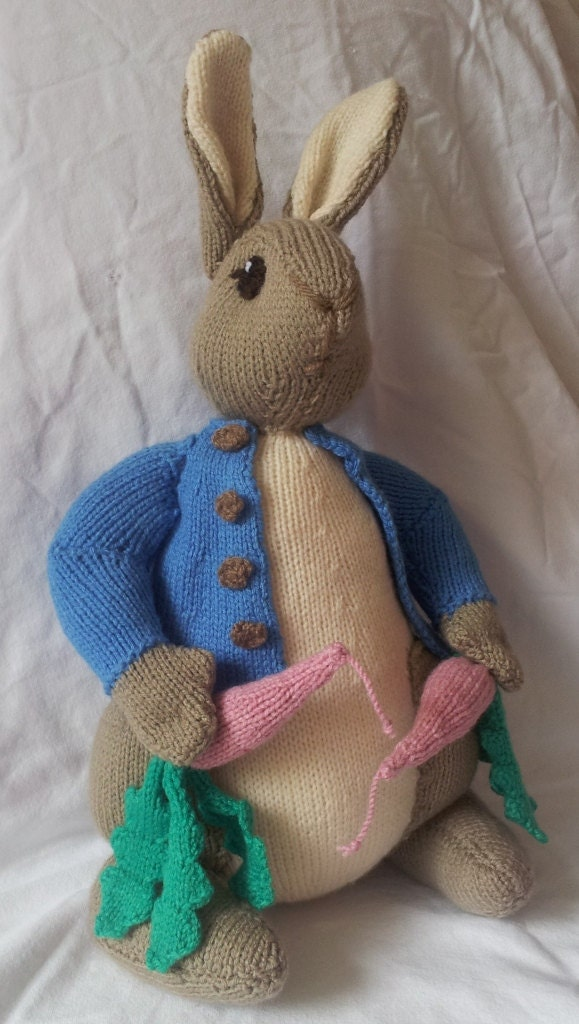 Knitting Pattern For Peter Rabbit Jumper : Peter Rabbit Cardigan Knitting Pattern - Long Sweater Jacket