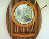 Wall Mirror Art with Branch
