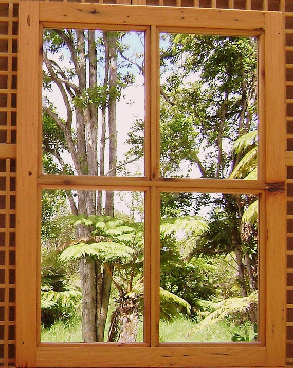 Window Mirror - Reclaimed Wood - Special Order
