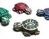 Turtle Magnets - Polymer clay - Set of 4