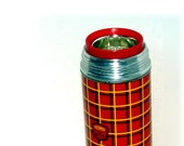 Like New Vintage Thermos - Red & Yellow -  mad men Retro Thermos Brand
