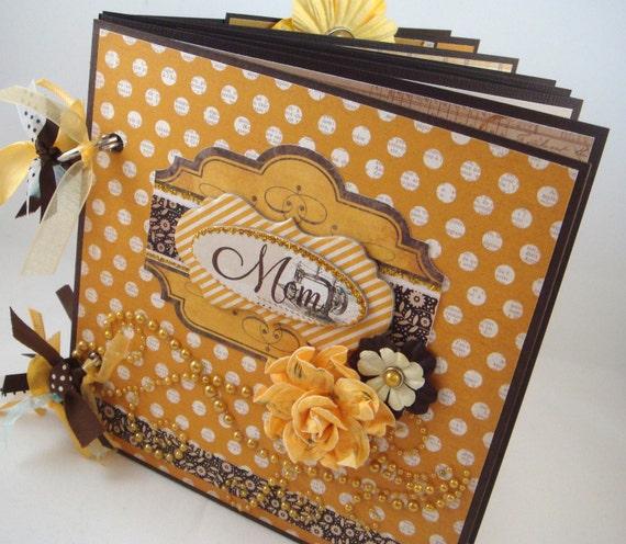 Scrapbook Mini Album Gift for Mom