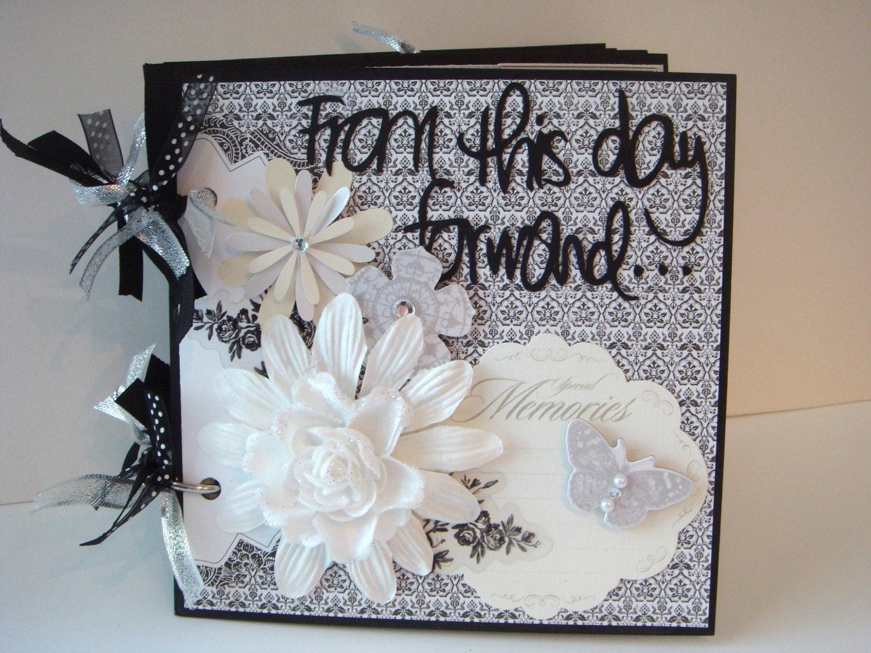 kit wedding scrapbook kit mini album pre cut by artsyalbums. Black Bedroom Furniture Sets. Home Design Ideas