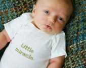 Little miracle onesie by See Baby Grow