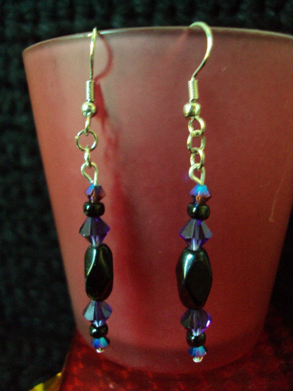 Swarovski Crystal Beaded Earrings
