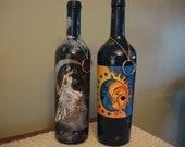 Bottle Incense Burners - Fairy on Moon & Celestial Sun/Moon