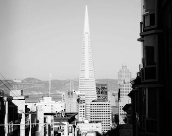 8x10 - Transamerica: San Francisco, CA