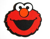 "20 pack - Elmo die cut 3"" -  embellishment, DIY tags - Invitations inserts - Cupcake toppers"