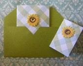 Mini-Cards: Sunflower Picnic