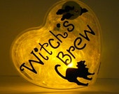 GlowHeart- (Witch's Brew) -halloween, gifts for kids, trick or treat safety