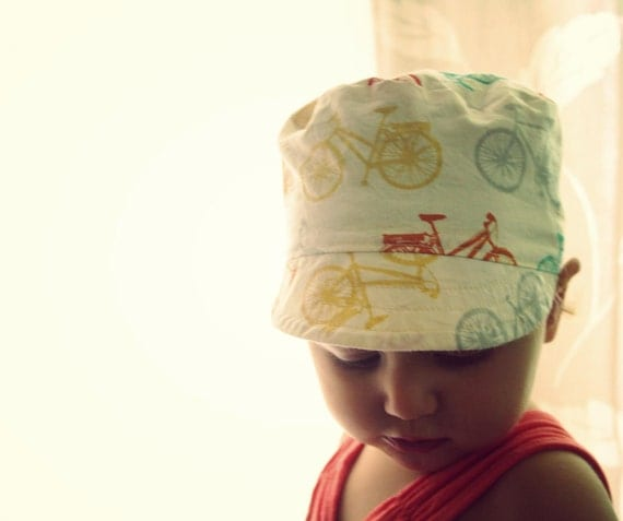 conductor Hat - vintage inspired reversible cap (1-6 yrs)