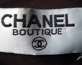 CHANEL BOUTIQUE brown long sleeve top  (Genuine)