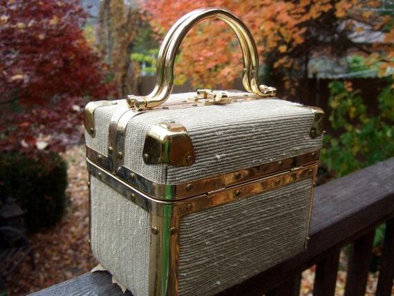 Designer Vintage Box Bag LIZETTE New York Florence