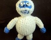 Crochet Abominable Snow Monster Doll