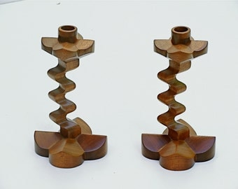 Nurture The Flame With Genuine Mahogany Candle Stands