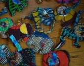 African ornaments or key-chains