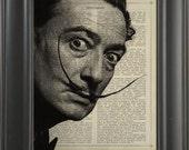 Salvador Dalí -  Printed on intelligent page  -  250Gram paper.