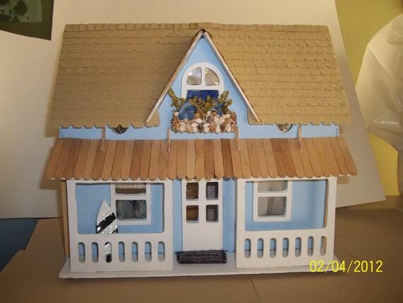 Dollhouse Beachside Cottage Half Scale