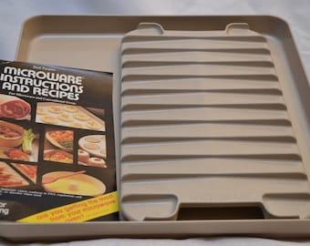 Vintage Anchor Hocking Microwave Baking Sheet & Roasting Rack