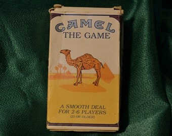 Vintage Camel - The Game - RJ Reynolds - 1992