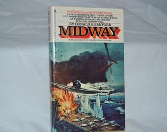 Vintage Book - Midway - Donald S Sanford - Paperback - 1976