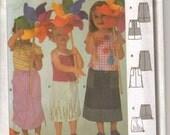 Burda Childs Skirt Pattern 9938 UNCUT