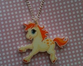 REDUCED Cute Kawaii Chibi Unicorn Acrylic Necklace