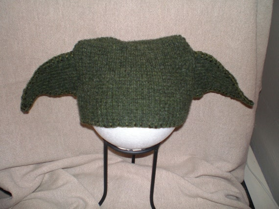 Recycled Sweater Yoda Hat