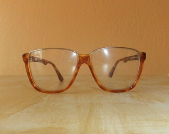 Vintage Charles Jourdan Horn-Rimmed Eyeglass Frame -- New Old Stock