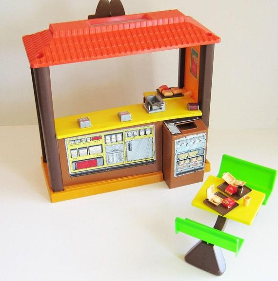 Classic 80s Toys : Vintage barbie loves mcdonalds s toys