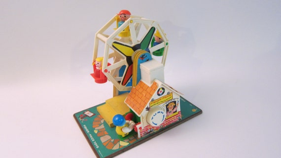 Vitnage Fisher Ferris Wheel 60's toy Amazing Condition Music box