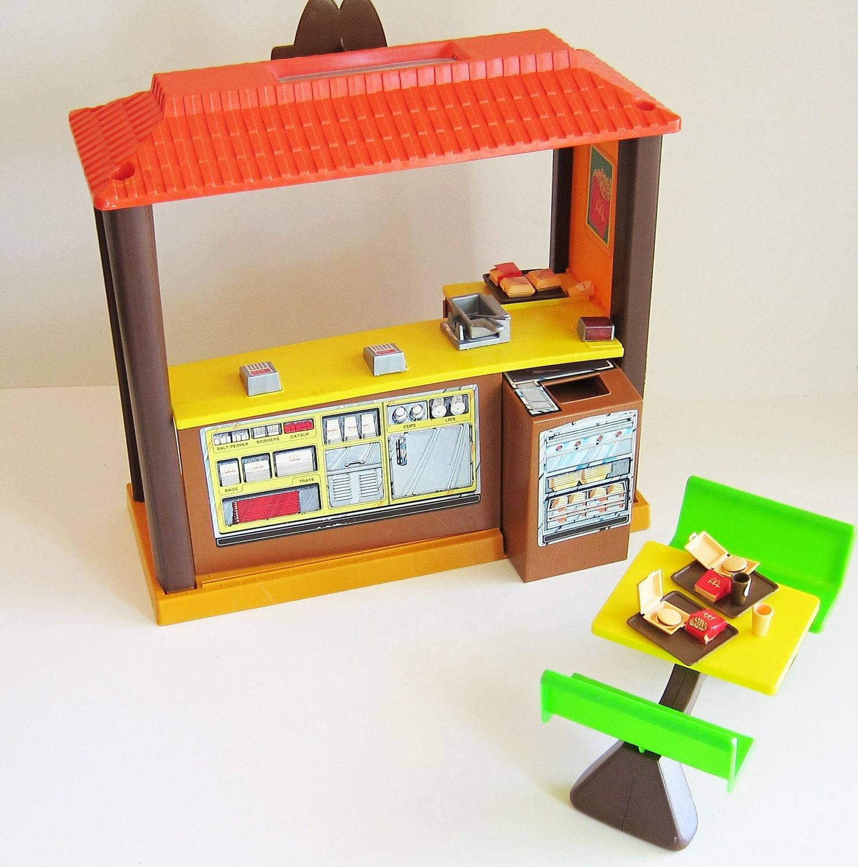Old 80s Toys : Vintage barbie loves mcdonalds s toys