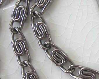 Chain That Makes a Statement, Scroll Chain.  6 feet