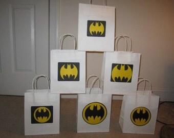 Batman goody bags or gift bags