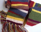 Doctor Who Scarf Fourth Doctor Inspired 6 ft. style - Ready to Ship
