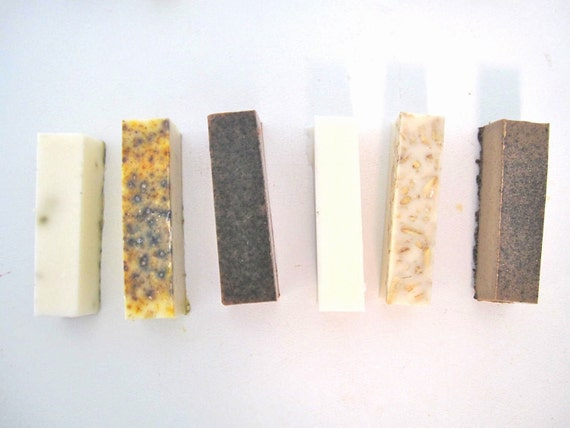 Goats Milk Soaps Sampler - 4 Sample Soaps of Your Choice