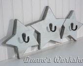 Star, Wooden Star, Coat Rack, Wooden star, wall hanging, wooden sign, home decor, wall, Housewares, Wall Decor